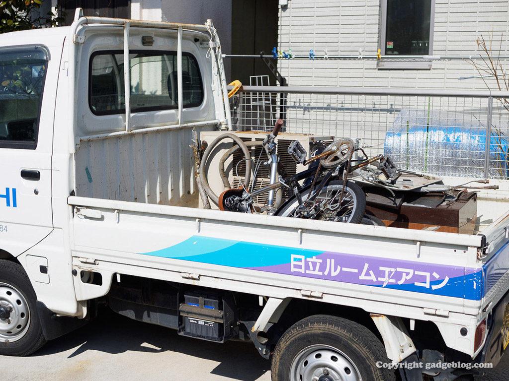 廃品収集車