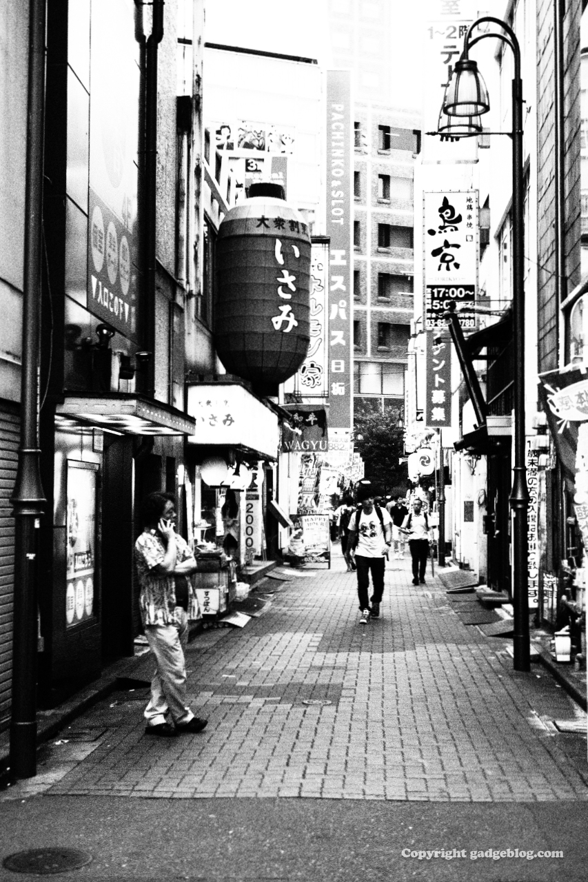 新宿のスナップ写真