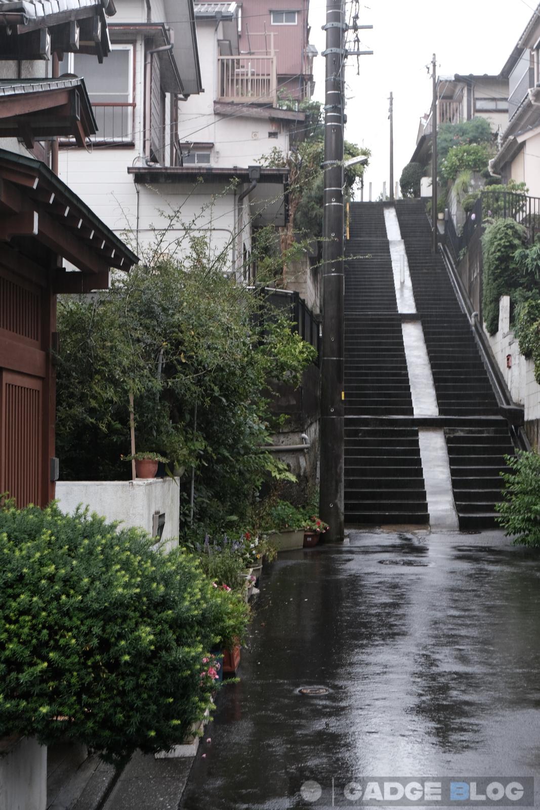 町角の階段